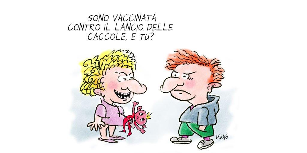 Vaccini a gogo\
