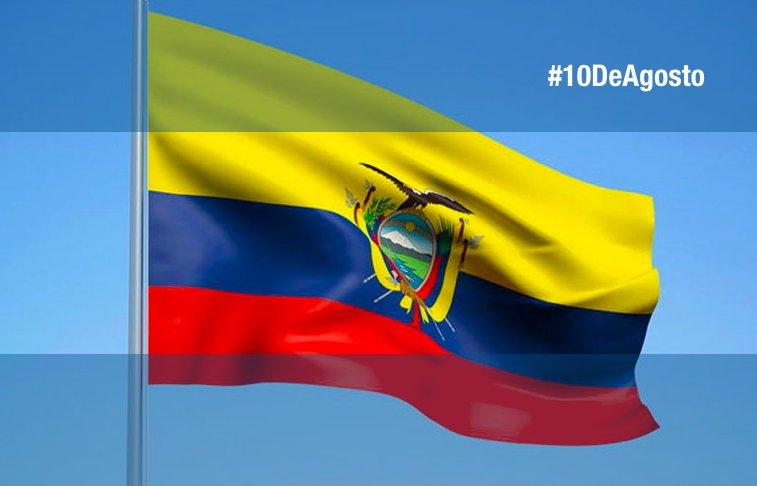 Hoy #10DeAgosto todos los ecuatorianos recordamos y celebramos el #PrimerGritoDeIndependencia, en nuestro país 🇪🇨se inició el despertar de América.