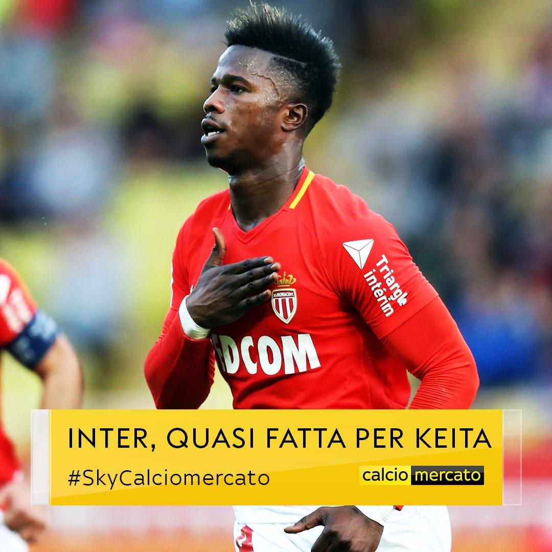 #UltimOra #Mercato #Inter, quasi fatta per #Keita Balde dal #MonacoPrestito a 5/6 milioni con diritto di riscatto sui 30#SkyCalciomercato  - Ukustom