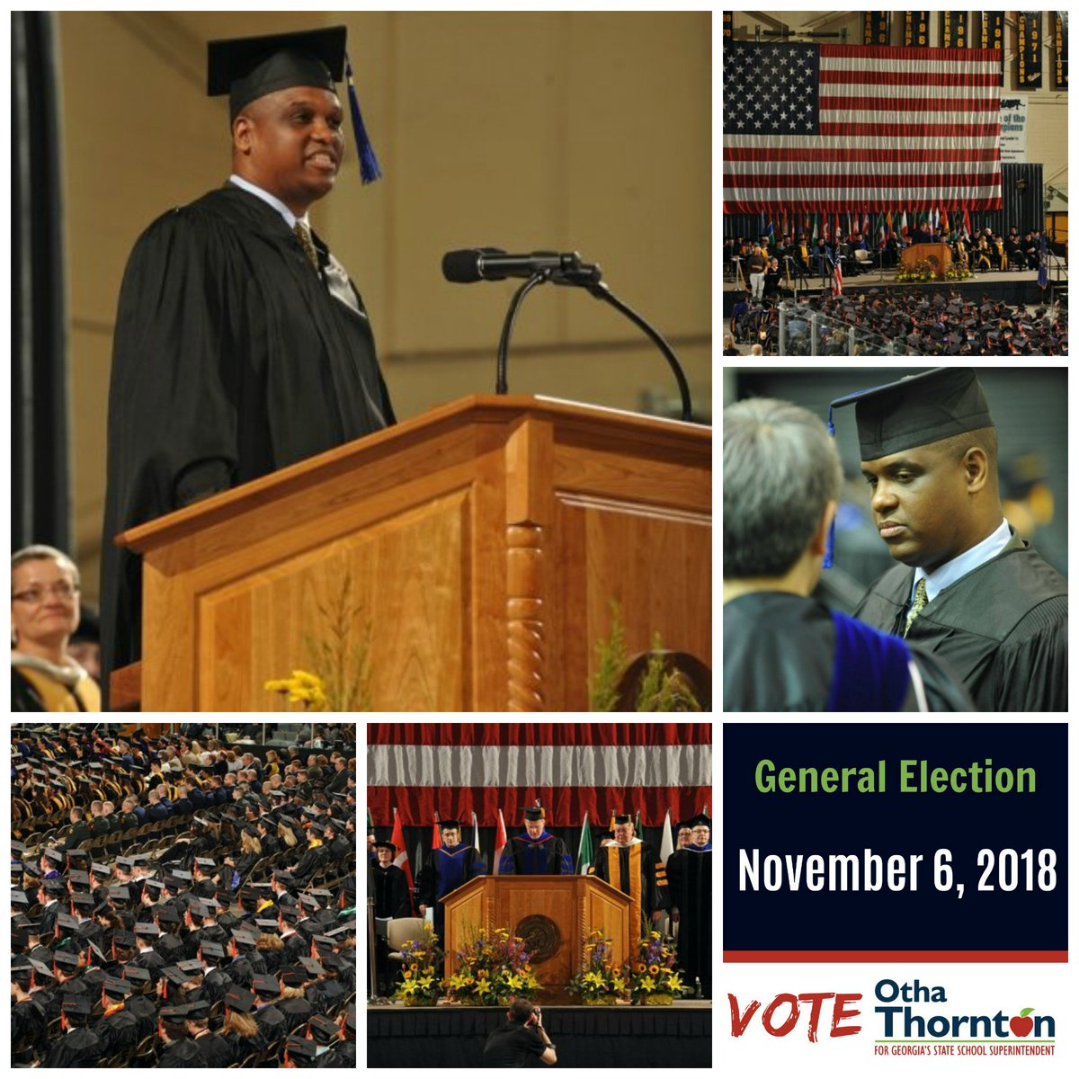 In 2009 I gave the commencement address at Michigan Technological University. I was recognized by my students and the University for outstanding performance and awarded an honorary doctorate.  #Leadership #VoteOtha #OthaforSupt #RestoringHope <br>http://pic.twitter.com/xeugik5Xzl