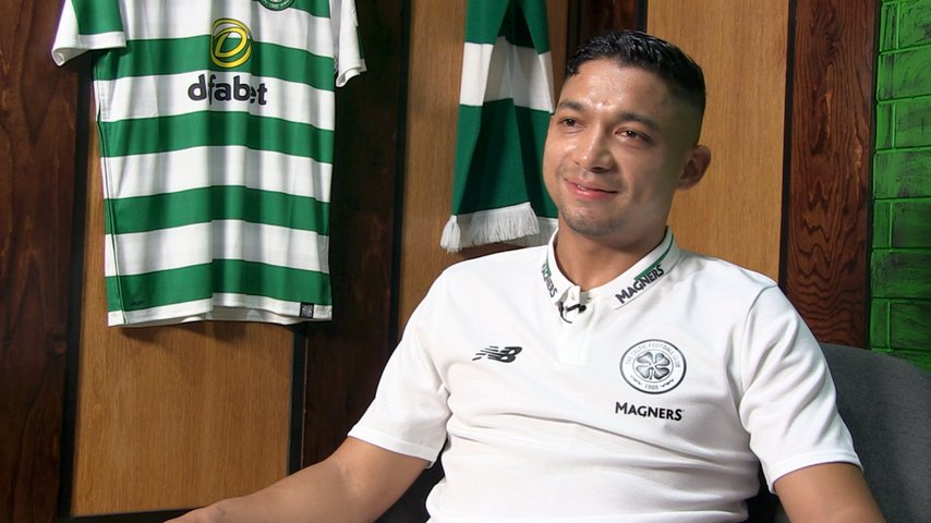 Celtic TV's photo on Emilio Izaguirre