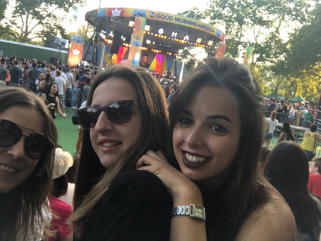 All the way from Spain! Looking forward to The Chainsmokers concert! #CHAINSMOKERSonGMA <br>http://pic.twitter.com/X6lqCQYxaO