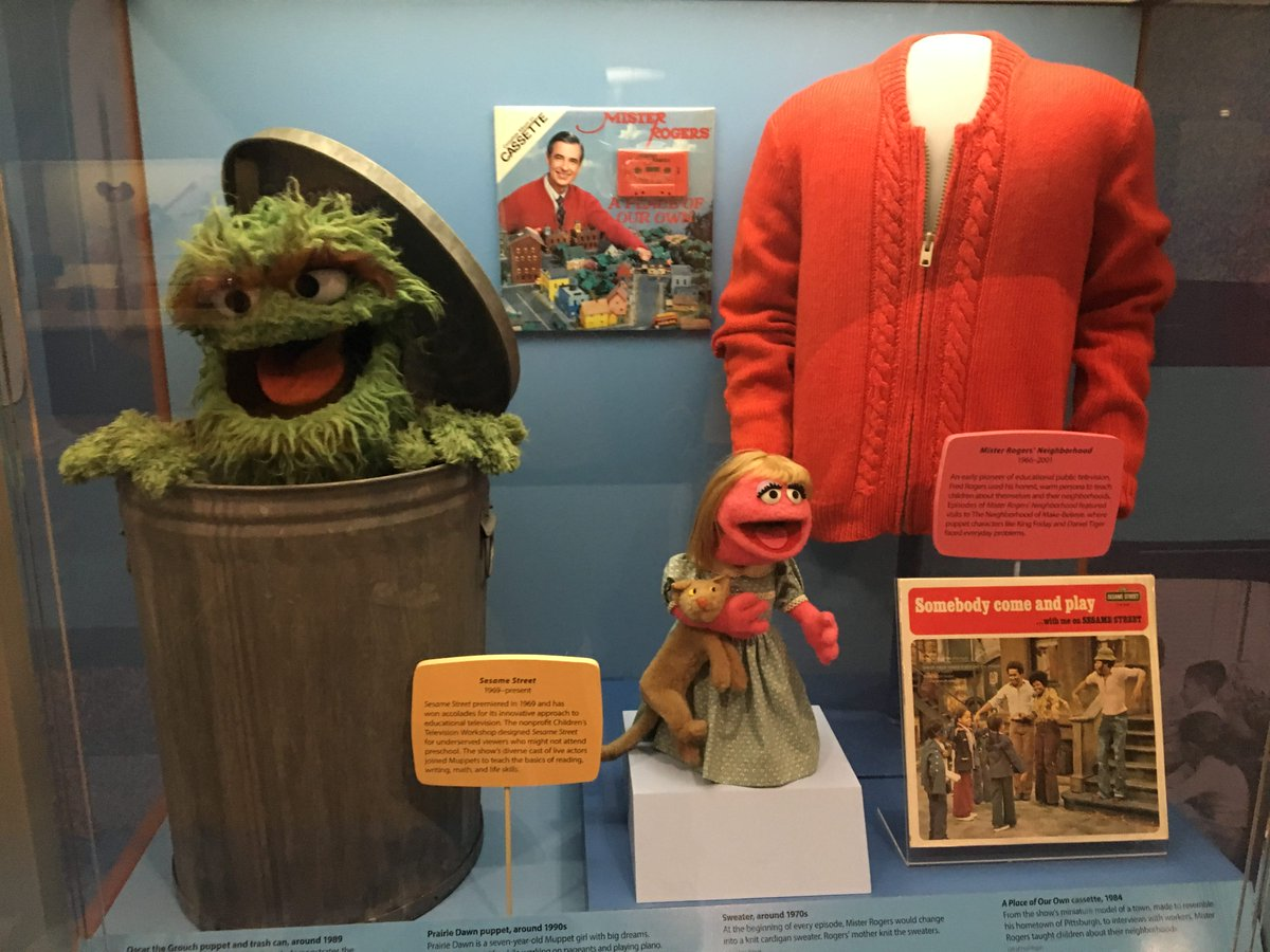91 3 Wyep On Twitter Dailyfeedback The Smithsonian Institution Was Chartered On This Day In 1846 To Increase And Diffuse Knowledge It Worked Did You Know They Display One Of Mr Rogers Sweaters