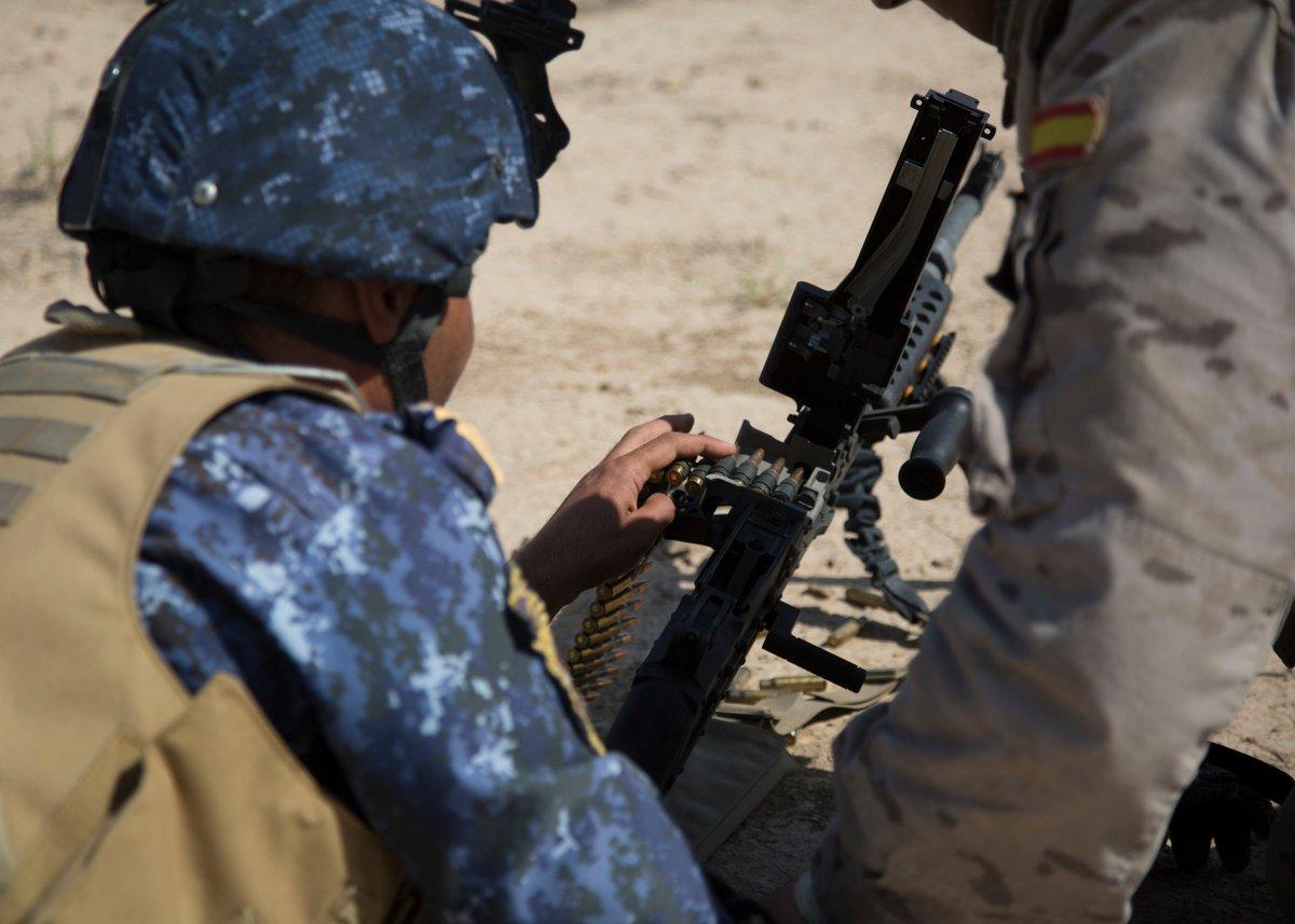 جهود التحالف الدولي لتدريب وتاهيل وحدات الجيش العراقي .......متجدد - صفحة 3 DkPJVJWUUAAdeFV
