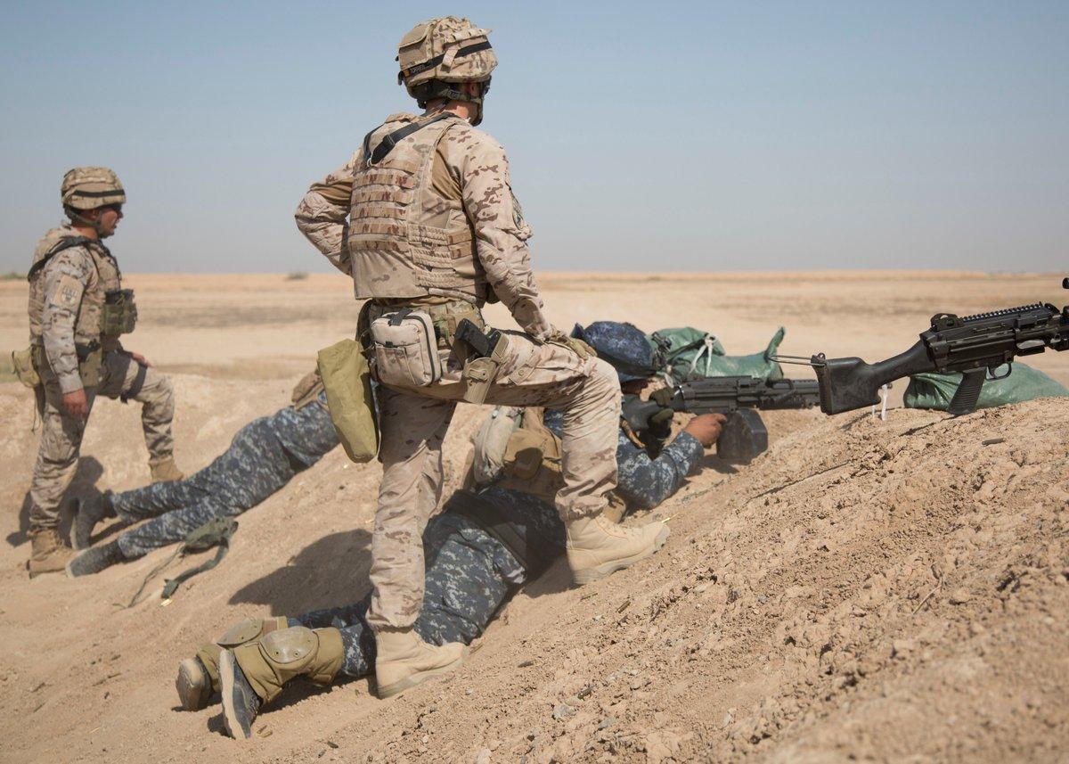 جهود التحالف الدولي لتدريب وتاهيل وحدات الجيش العراقي .......متجدد - صفحة 3 DkPJVqaU0AEMioG