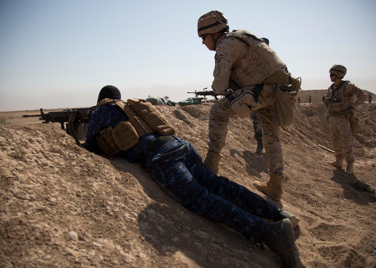 جهود التحالف الدولي لتدريب وتاهيل وحدات الجيش العراقي .......متجدد - صفحة 3 DkPJVqcUUAEwDh1