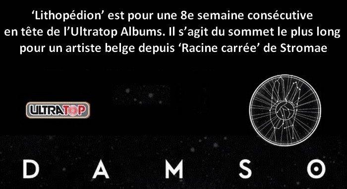 . @THEDAMSO enchaîne les records avec son album #lithopedion !. http:// www.ultratop.be/fr/albums #damso #music #Belgium  - FestivalFocus