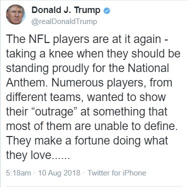 Kneeling during the national anthem is every American&#39;s irrevocable #1stAmendment right.  Kneeling before a #Russian dictator is treason.  #TrumpLiesMatter #TreasonSummit #TrumpRussiaConspiracy #MuellerKnows #FridayFeeling @docrocktex26 @teapainusa @princessbravato @mcspocky<br>http://pic.twitter.com/xUA0FjXtJw