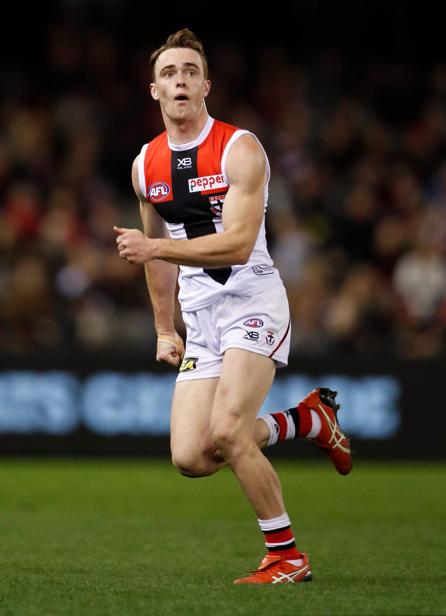 Well done, Pato.  First goal in AFL football:   #AFLDonsSaints #HalosOn<br>http://pic.twitter.com/umDcsKhKiB