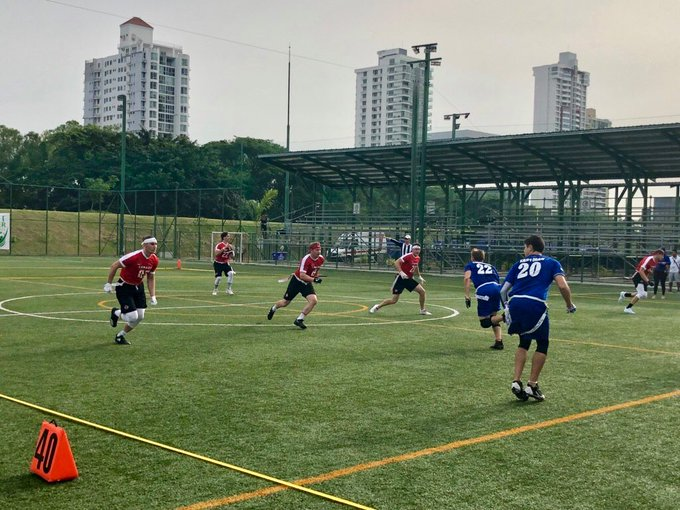 Canada gets mixed results after Day 1 of IFAF Flag Football World Championships #2018FFWC Photo