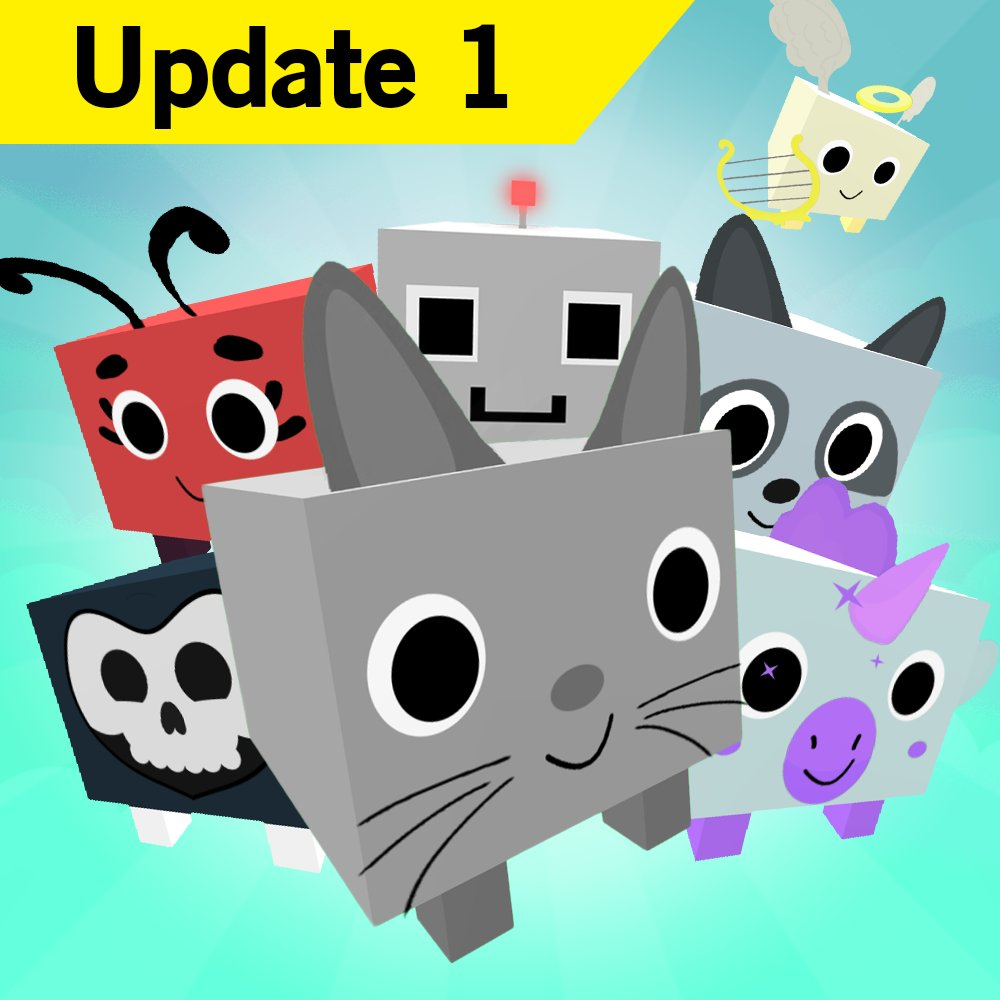 Roblox Pet Simulator Big Cat Code Big Games On Twitter New Pet Simulator Update Is Out Includes New Area 2 New Eggs 19 New Pets Visible Pet Nicknames And So Much More Full Changelog
