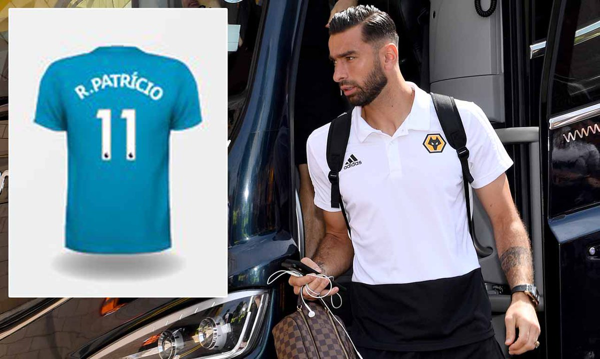 MailOnline Sport's photo on Rui Patricio