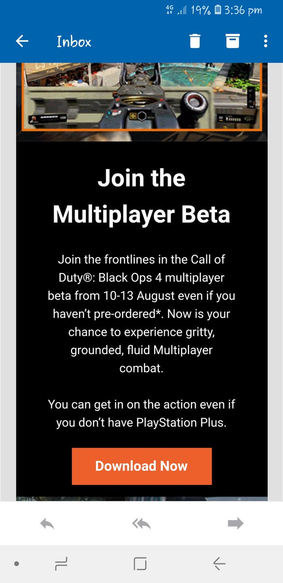 Ryan B On Twitter Give It A Try If You Haven T Pre Ordered But Want To Try Bo4 Getting Multiple People Telling Me It Is Open Atm For Download On Ps4 Https T Co Nm2cgmirsl