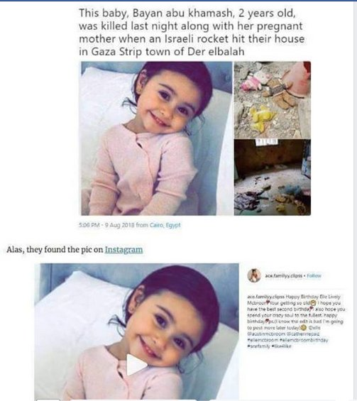 Lily dufret's photo on Gaza
