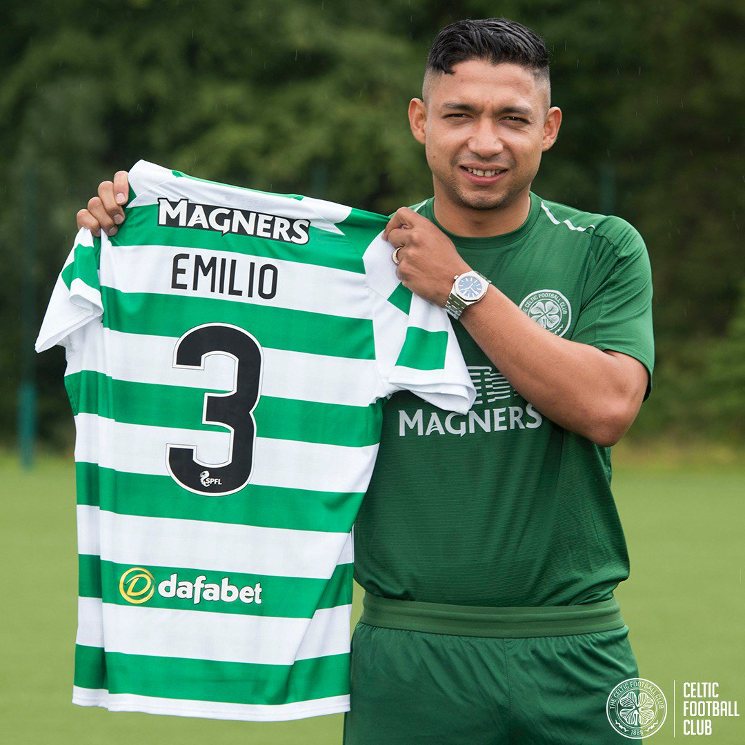 Celtic Football Club's photo on Emilio Izaguirre