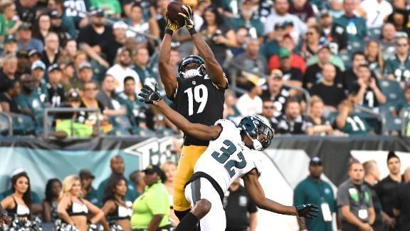 f4c21f6ae steelers vencem os  Eagles com  volta  de Shazier e touchdown incrível