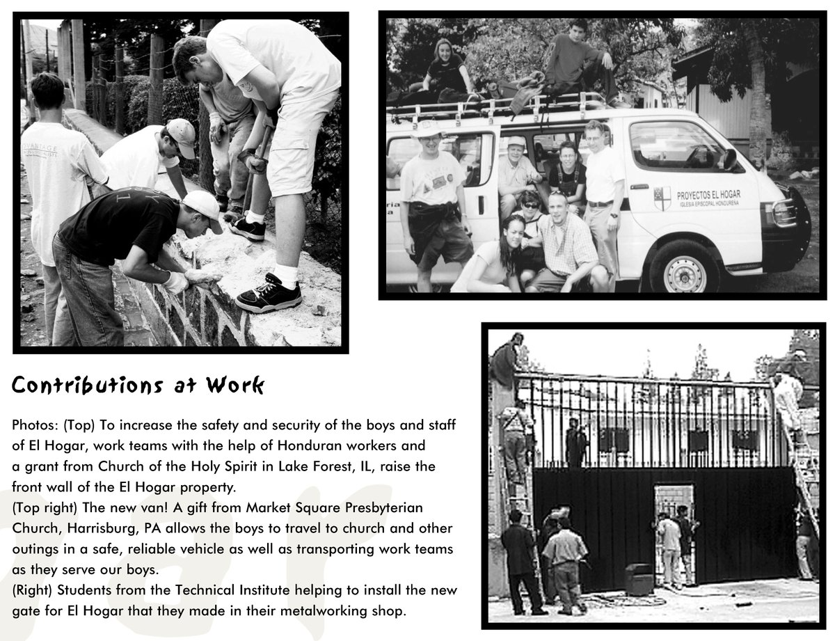This week's look back at El Hogar's history features some of our previous #ServiceTeams. See this week&#39;s post here:  http://www. facebook.com/ElHogarMinistr ies &nbsp; … . #Honduras<br>http://pic.twitter.com/cYfcMuvP6o