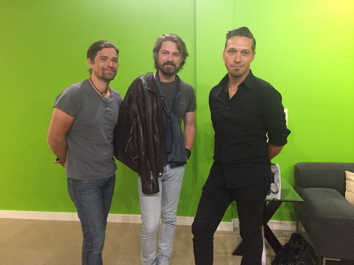 .@hansonmusic is chatting with us on #FOX59Morning before their big concert tonight! Watch them perform for free @IndyStateFair at 7:30 p.m.<br>http://pic.twitter.com/BQdEtsJXj4