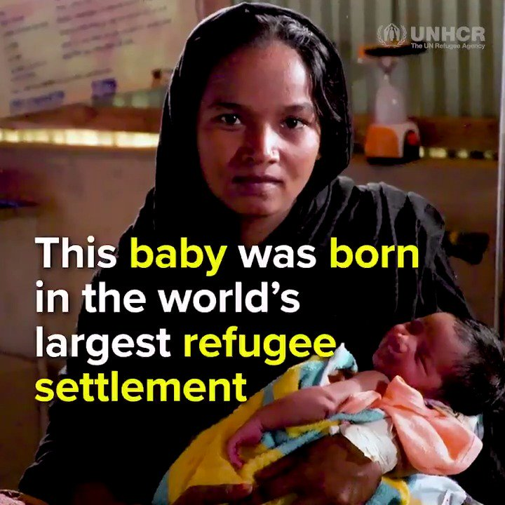 She never planned to give birth in the worlds largest refugee settlement. This is how were helping Rohingya women like Amina in Bangladesh: