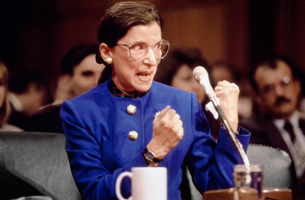 When Ruth Bader Ginsburg was nominated to the Supreme Court in 1993, some said she was &quot;too old.&quot; 25 years later... Still Fighting. #FridayMotivation<br>http://pic.twitter.com/N4oTKUdBdq