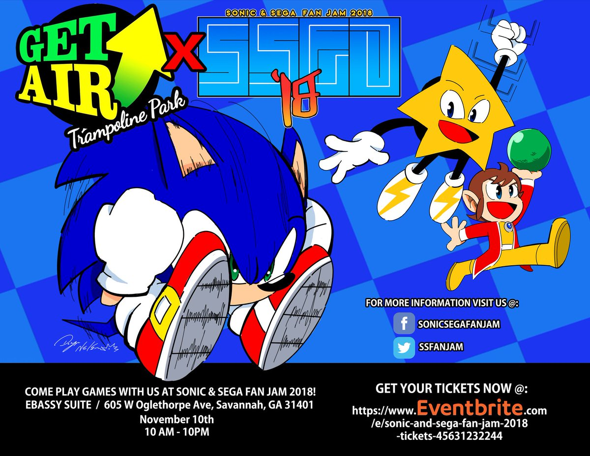 sonic sega fan jam on twitter announcement if you are in the