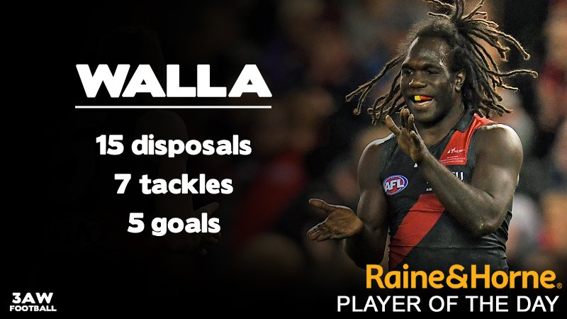 His name didn&#39;t fit   SHAWRY&#39;S VOTES 5. A McDonald-Tipungwuti 4. A McGrath 3. Z Merrett 2. D Heppell 1. D Myers #AFLDonsSaints <br>http://pic.twitter.com/AuficXkHPl