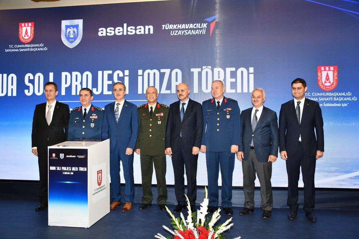 عقد لصالح شركة Aselsan لبناء وتطوير 4 طائرات حرب الكترونيه نوع Hava SOJ لصالح سلاح الجو التركي  DkPh-d3X0AE6EiC