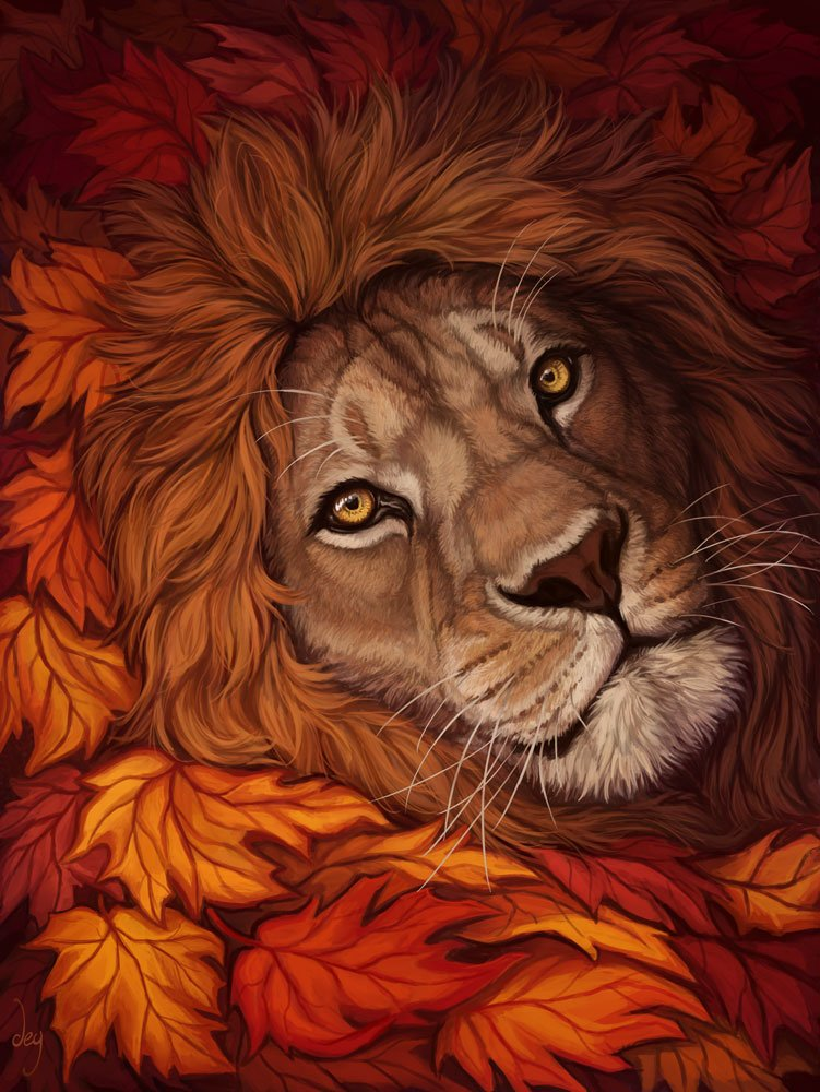 Maybe he&#39;s born with it, maybe it&#39;s maple leaves :3  Happy #WorldLionDay ! <br>http://pic.twitter.com/UfMBrsiMUi