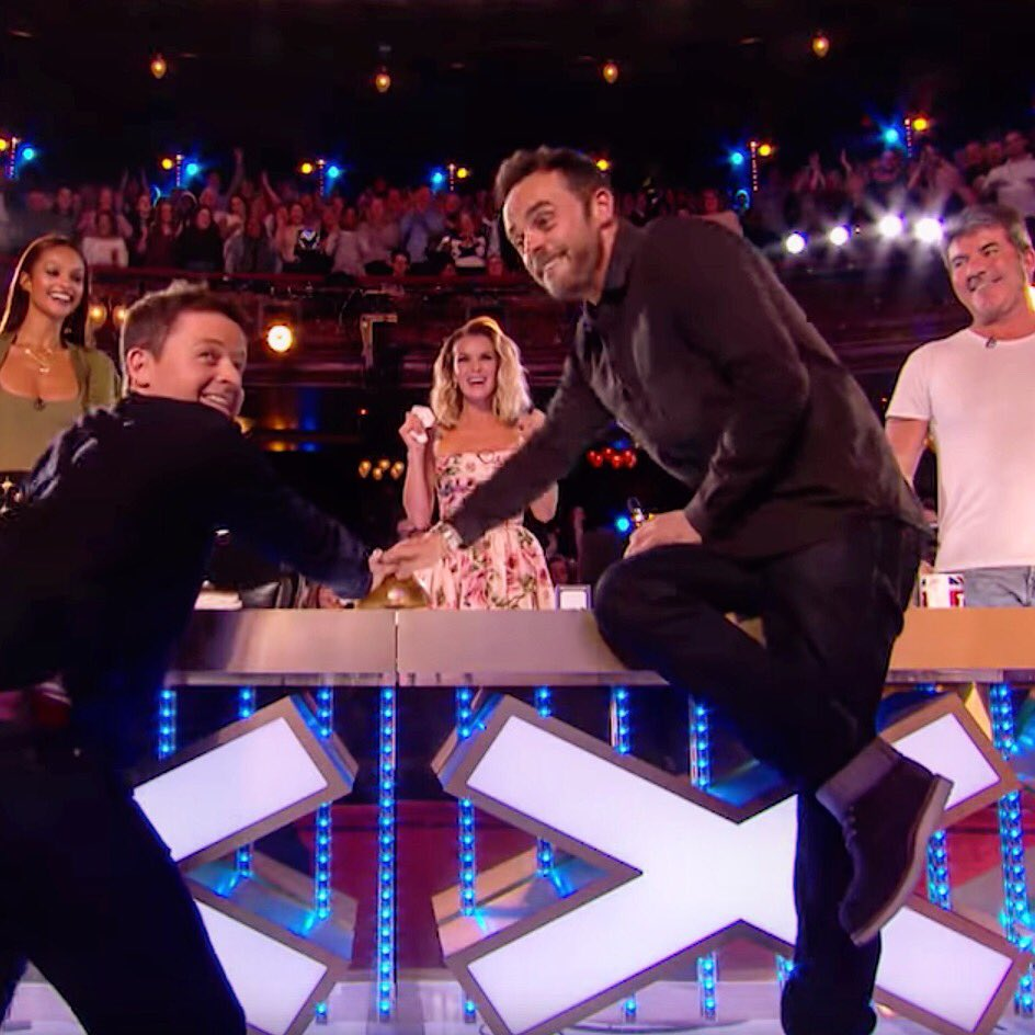 'That moment!!' This was a moment when Ant &amp; Dec changed my life for which I'll always be thankful. I wish Ant the very best. No matter who we are or where we are from, everyone has their battles. @antanddec #antanddec #antmcpartlin #marcspelmann #bgt #bgt2018 #britainsgottalent<br>http://pic.twitter.com/DcP3ggaNS3
