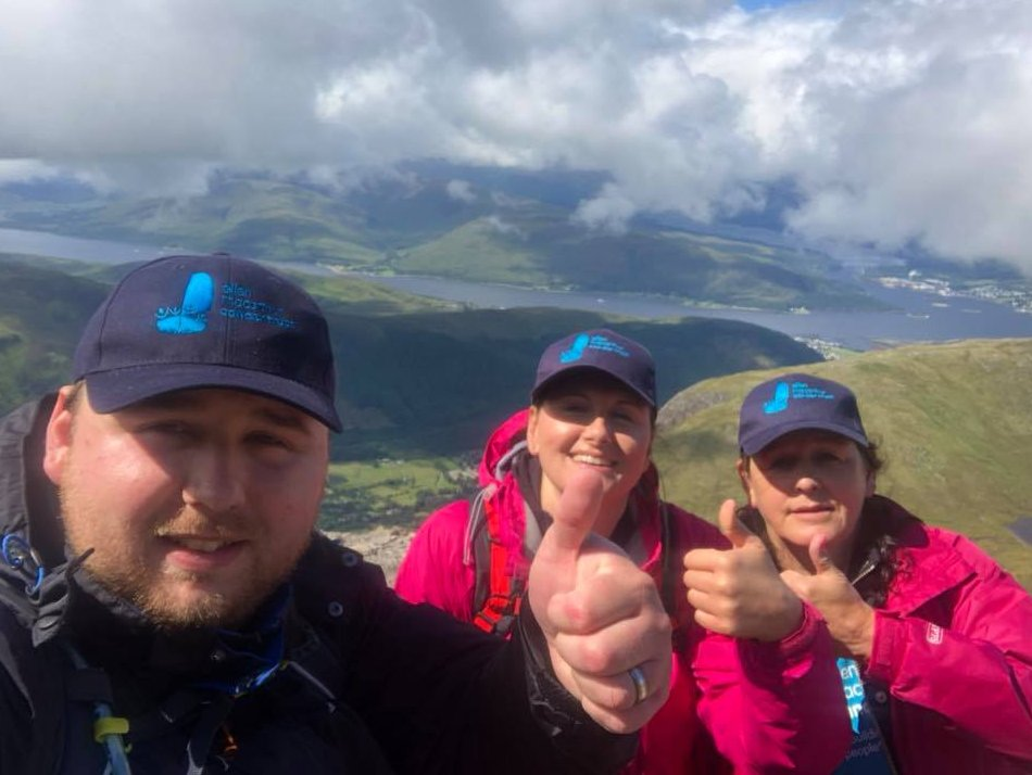 A huge well done to Luke, Kimberley, and Nix who climbed Ben Nevis on Wednesday 👏 Luke sailed with the Trust when he was 14 after treatment for Leukaemia. Now 26, he has a family of his own so wanted to give something back as the trust helped him rebuild his life after cancer.