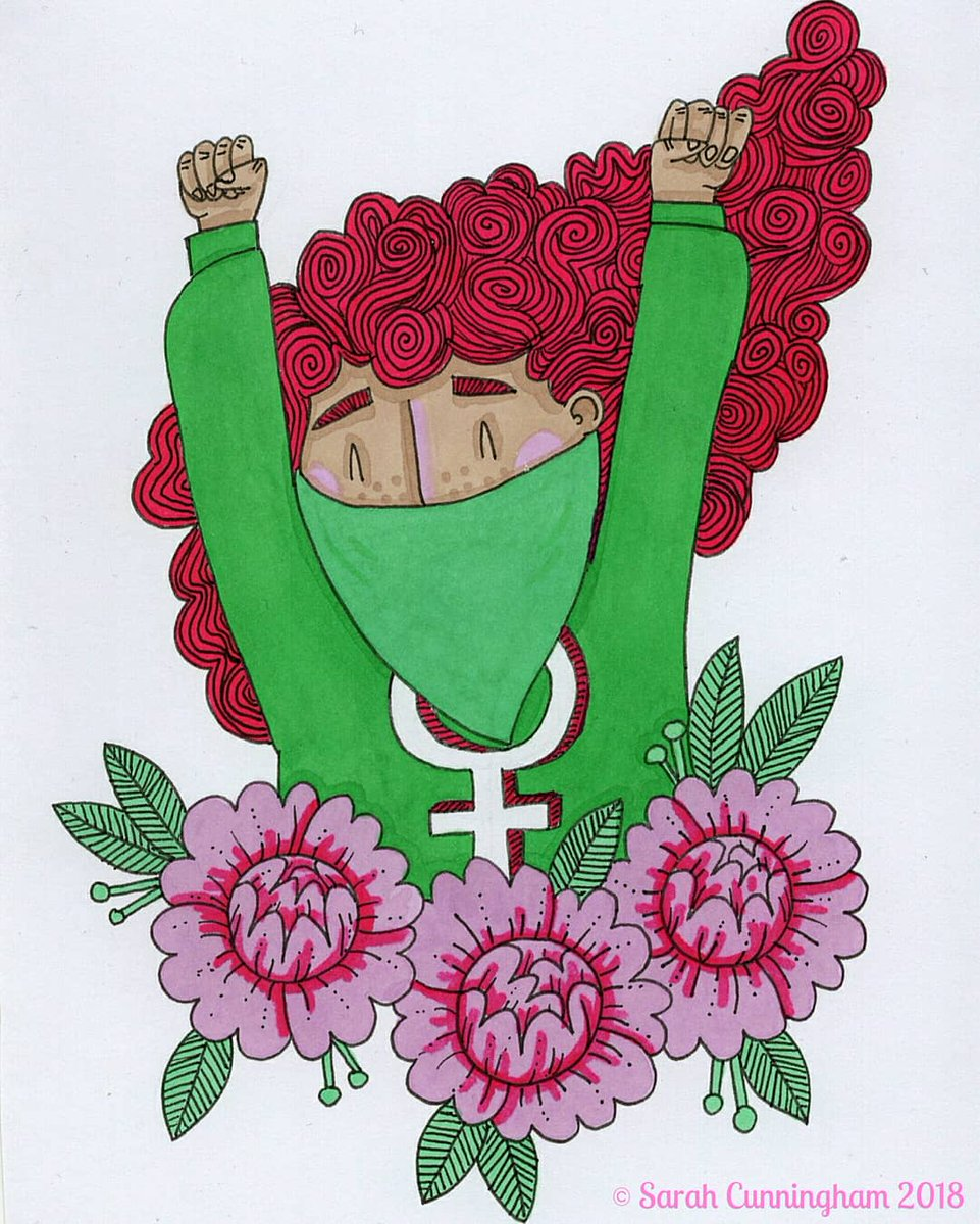 To the women of Argentina, we hear you, we see you, you are not alone.    Artwork my own   #Argentina #AbortoLegalYa #AbortoLegal #FreeSafeLegal  #WomensRights #Illustration<br>http://pic.twitter.com/HHioHHSXhu