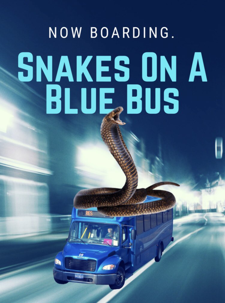 Big trailer dropping later. If you liked SNAKES ON A BLUE BUS, you're gonna love it. #Back2Bing<br>http://pic.twitter.com/ZPBHtGR0LL
