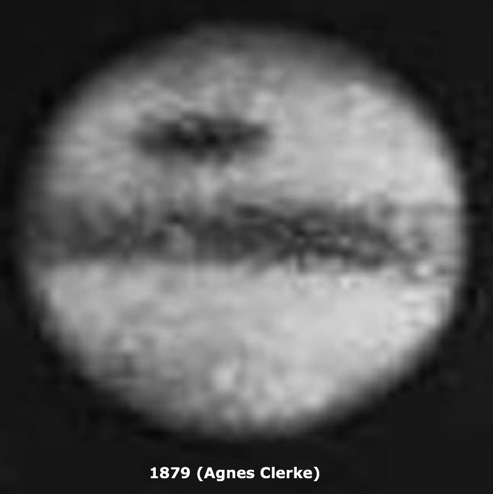 Jupiter&#39;s red spot is shrinking! Compare an 1879 photo to a recent Hubble view.  http:// hubblesite.org/news_release/n ews/2014-24 &nbsp; …  (It was driving me nuts seeing this comparison made with a fake image &amp; no attribution.) <br>http://pic.twitter.com/krur2qdE9G