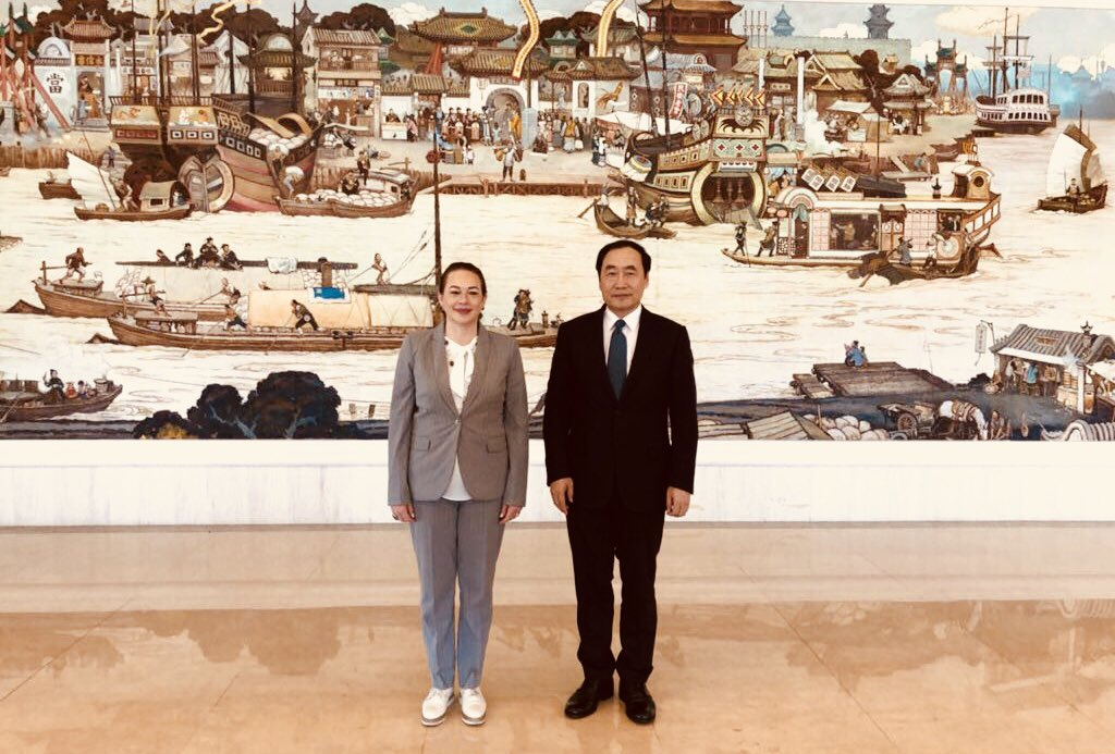 I commend Tianjin's efforts in becoming a sustainable city through planned urbanization with emphasis on inclusion and environmental protection. I am inspired by Tianjin's Women and Children Social Service Center- providing support to women starting businesses.