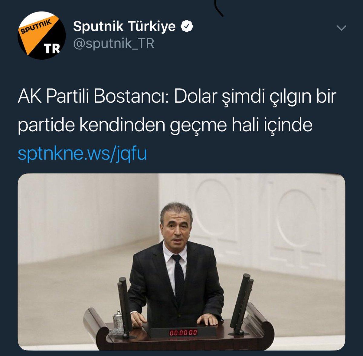 AK Partili Bostancı: Dolar şimdi çılgın bir partide kendinden geçme hali içinde 99