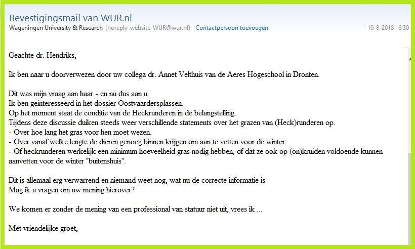 Dutch Scandal Int  & Nat  articles about New Wildermess