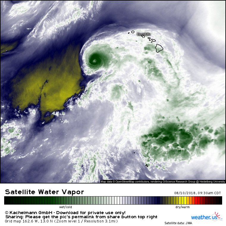 Weatherus Weather Forecasts For Professionals On Twitter - Us-water-vapor-map