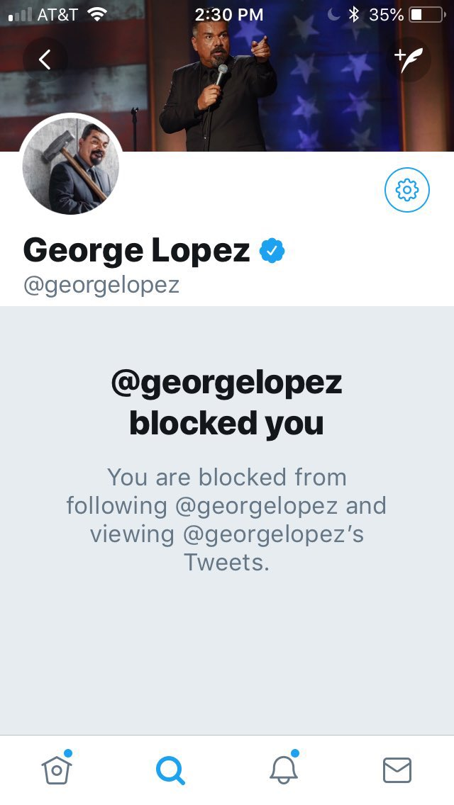 """""""George Lopez Pretends to Pee on Trump&#39;s Hollywood Star"""" —Class, from a mediocre """"comic."""" Was it something I said?  https:// youtu.be/F-n0x3f07W8  &nbsp;  <br>http://pic.twitter.com/jJUk2oKg0q"""
