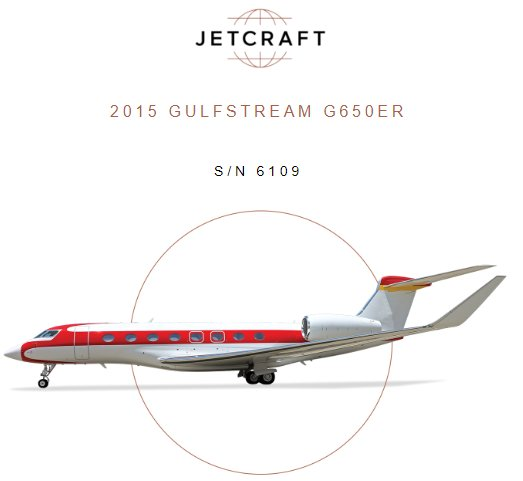 @JetcraftCorp presents recently upgraded - freshly inspected - invitingly priced 2015 #Gulfstream #G650ER for sale! Make offer! See details at  http:// ow.ly/RKp230lmj8m  &nbsp;    #bizjet #bizav #aircraftforsale #privateaviation #privatejet #privateflying #jetforsale #businessaviation<br>http://pic.twitter.com/sQ7FTvlztX