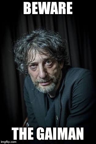 Neil Gaiman, 2019