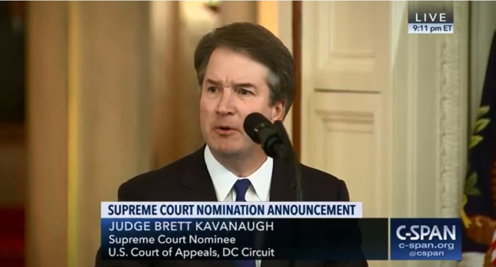 We strongly object to Sen. Chuck Grassley&#39;s plan to hold Senate Judiciary Committee hearings on #SCOTUS nominee Brett Kavanaugh even though vital material from Kavanaugh&#39;s years in the White House has yet to be released. Our statement:  http:// bit.ly/2Mc8VPZ  &nbsp;   #StopKavanaugh<br>http://pic.twitter.com/XhHwLNUz7q