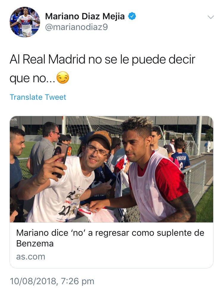 მარიანო დიასი Twitter-ზე:
