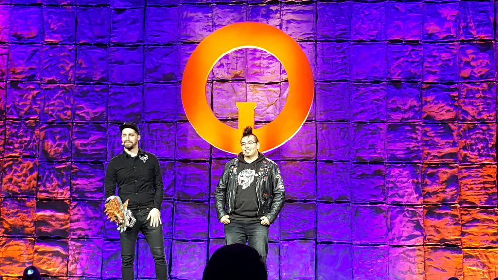 That Gauntlet tho. @quake #QuakeCon2018