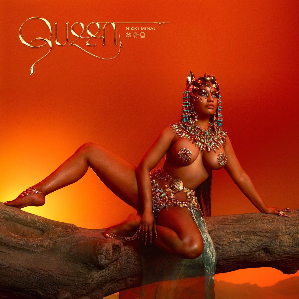 We've just added @NickiMinaj's new album #QUEEN to this week's new releases! 🔥 bit.ly/1fYTfe4