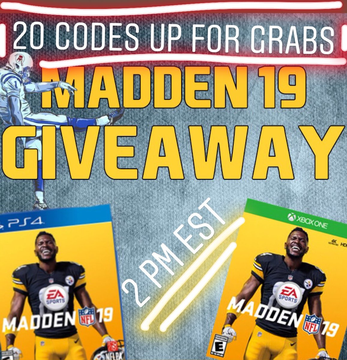 🗣 #Madden19 GIVEAWAY.. Be a friend, tell a friend