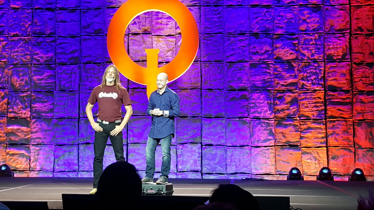 The killer team-up for @RAGEgame: @idSoftware and Avalanche Studios. #QuakeCon2018