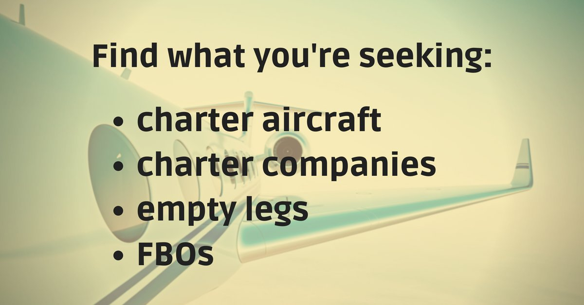 We&#39;ve got the perfect aircraft based on your specs &amp; we&#39;ll get you in touch with the right people for the job. Browse our list of empty leg trips or locate specific fix-base operators.  https://www. charterhub.com / &nbsp;   #bizjet #bizav #privateaviation #privatejet #privateflying #jetforsale <br>http://pic.twitter.com/vCtsFEJSNL