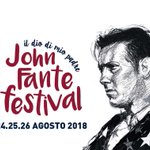 "Image for the Tweet beginning: JOHN FANTE FESTIVAL ""Il dio"