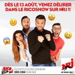 #RicoShowSurNRJ Twitter Photo