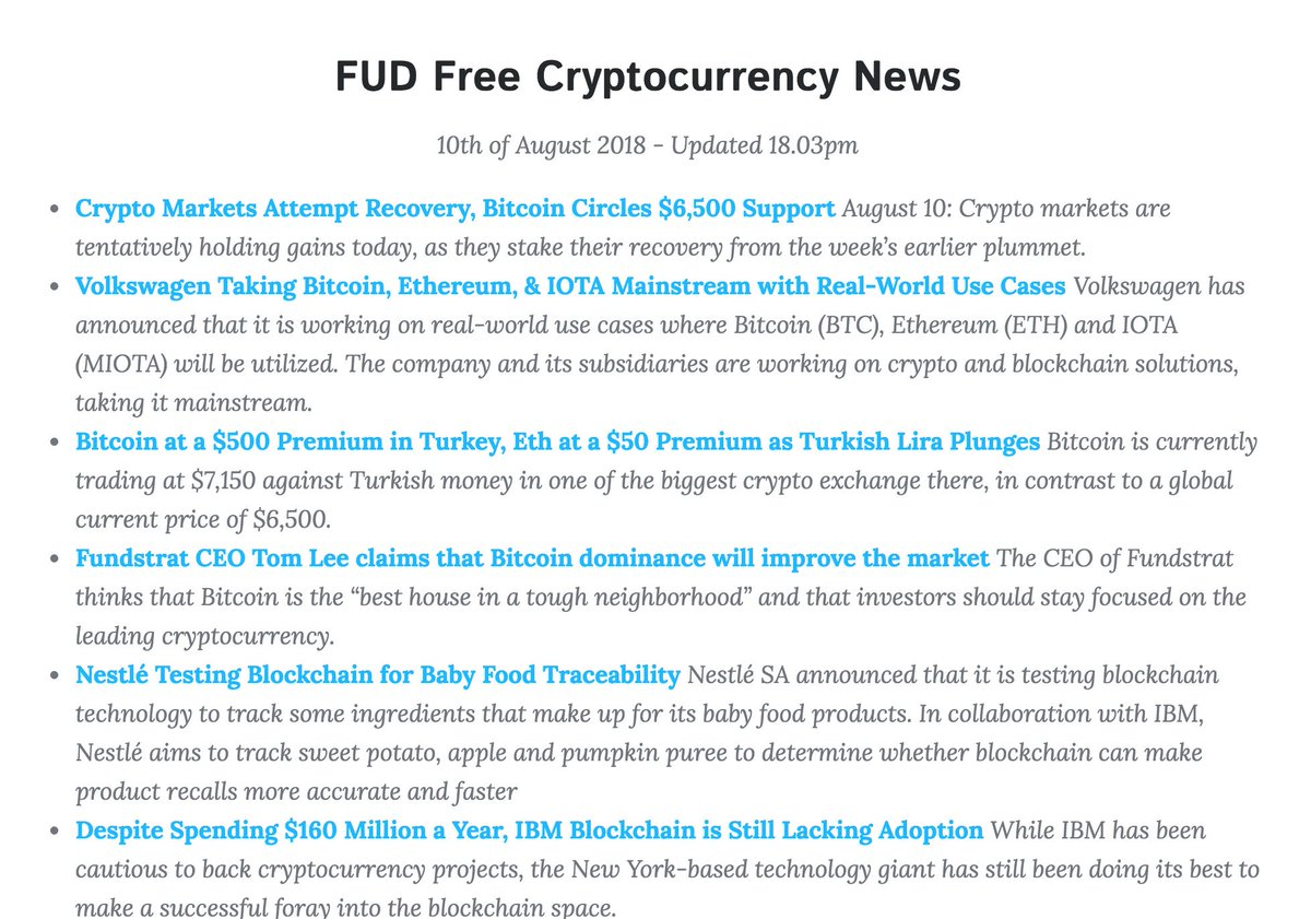 #ripple #cryptocurrency #coinbase #bitcoin #blockchain #eth #ethereum #cryptocurrencynews #binance #crypto #tokensale #cryptonews #altcoins #Ontology #Zilliqa #CryptoTrader #cryptotwitter #vergecurrency #xvgfam #vergefam FUD-free #cryptocurrency news -  https:// smashingbloke.com/News.html  &nbsp;  <br>http://pic.twitter.com/ecfdfhmdE7